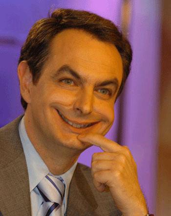 Zapatero, en fin, élmismo.